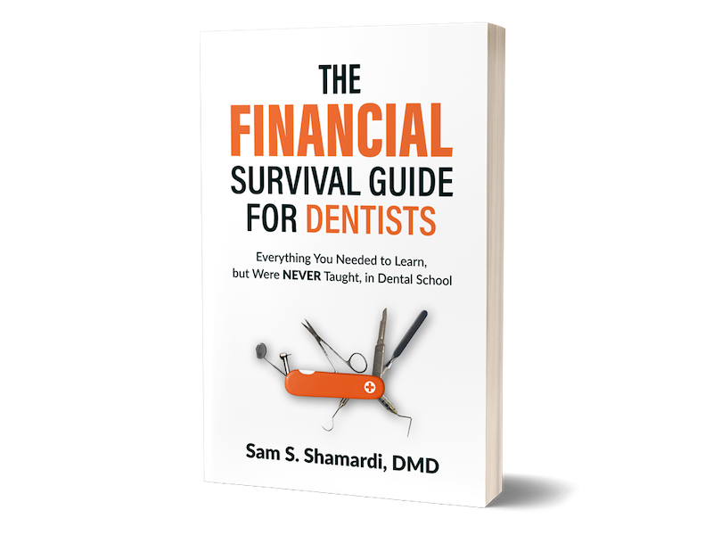 Dr. Sam Shamardi is the author of the Financial Survival Guide for Dentists